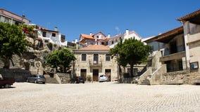Castelo Novo, Beira Baixa, Portugal: het vierkant Royalty-vrije Stock Afbeelding