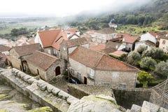Castelo Novo miasteczko Obrazy Royalty Free