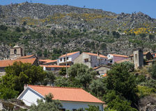 Castelo Novo village village on the foot of Serra da Estrela (Estrela Mounts) in Beira Baixa province, Portugal Royalty Free Stock Image