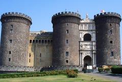 Castelo Nuovo, Nápoles, Italy. foto de stock