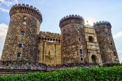 Castelo Nuovo - nouveau château, Naples, Italie - voyage l'Europe photographie stock