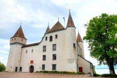 Castelo Nyon Fotos de Stock