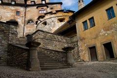 Castelo Oravsky Podzamok imagem de stock royalty free