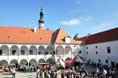 Castelo Oslavany, República Checa, Europa Imagens de Stock