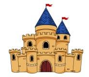 Castelo ou fortaleza medieval Imagem de Stock