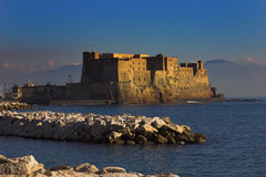 Castelo Ovla Nápoles Fotografia de Stock Royalty Free