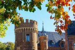Castelo Paffendorf em Bergheim, Erftkreis, Alemanha fotos de stock