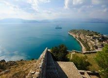 Castelo Palamidi, Nafplio, Greece Fotografia de Stock