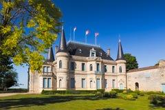 Castelo Palmer, Bordéus, cara Foto de Stock