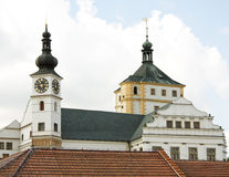 Castelo Pardubice Imagem de Stock