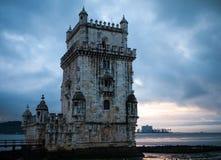 Castelo pelo mar imagem de stock royalty free