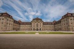 Castelo perto de Bamberga fotos de stock