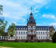 Castelo Phillipsruhe em Hanau fotos de stock