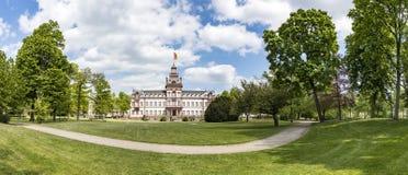 Castelo Phillipsruhe em Hanau Foto de Stock