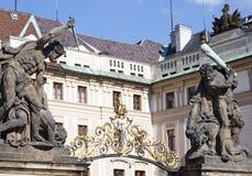 Castelo porta-EU-Praga Fotografia de Stock Royalty Free