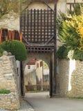 Castelo Portcullis Fotografia de Stock