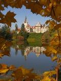 Castelo Pruhonice Fotografia de Stock Royalty Free
