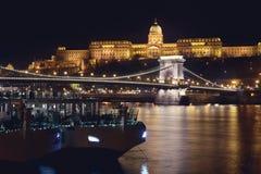 Castelo real de Budapest Foto de Stock Royalty Free