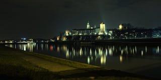 Castelo real de Wawel em Poland Imagens de Stock Royalty Free