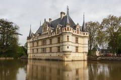 Castelo real do d'Azay-le-Rideau Foto de Stock