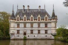 Castelo real do d'Azay-le-Rideau, Loire Valley Imagens de Stock Royalty Free