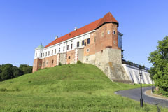 Castelo real em Sandomierz, Polônia Foto de Stock
