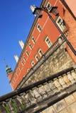 Castelo real em Varsóvia Fotos de Stock Royalty Free