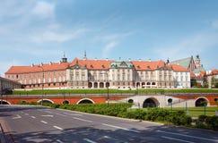 Castelo real em Varsóvia - arcadas Fotografia de Stock