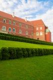 Castelo real em Varsóvia, Polônia Imagem de Stock Royalty Free