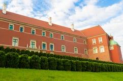 Castelo real em Varsóvia, Polônia Imagens de Stock