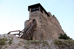 Castelo real em Visegrad em Hungria Foto de Stock Royalty Free