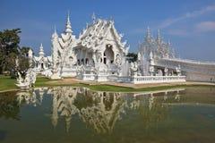 Castelo refletido em uma lagoa Imagem de Stock