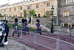 Castelo Reino Unido de Windsor Foto de Stock Royalty Free
