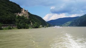 Castelo Rheinstein fotos de stock
