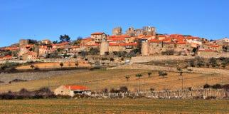 Castelo Rodrigo historical village stock photos