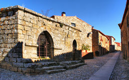 Castelo Rodrigo historical village royalty free stock images