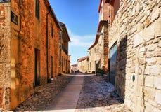 Castelo Rodrigo historical village Stock Images