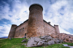 Castelo romano no EL Barco de Avila Imagem de Stock
