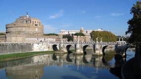 Castelo San Angelo Roma Imagens de Stock