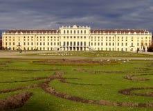 Castelo Schoenbrunn Viena fotos de stock royalty free