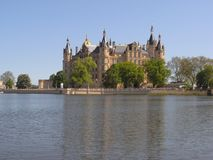 Castelo Schwerin imagens de stock royalty free