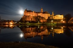 Castelo Sigmaringen Imagem de Stock