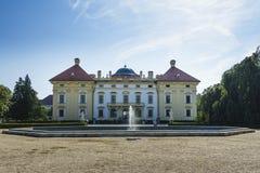 Castelo Slavkov Fotografia de Stock