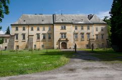 Castelo Smirice, república checa imagem de stock royalty free