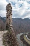 Castelo STARY HRAD, Eslováquia Fotos de Stock Royalty Free