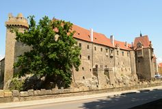 Castelo Strakonice Foto de Stock