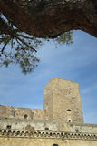 Castelo Svevo de Bari Foto de Stock Royalty Free
