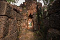 Castelo tailandês antigo (Prasat Muang Singh) Fotos de Stock Royalty Free