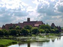 Castelo Teutonic dos cavaleiros Imagem de Stock Royalty Free