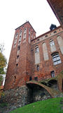 Castelo Teutonic medieval em Kwidzyn Imagem de Stock